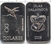 Каталог монет - монета  Галапагосские острова 8 долларов