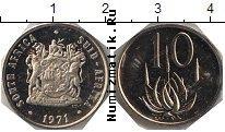 Каталог монет - монета  ЮАР 10 центов