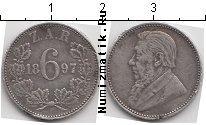 Каталог монет - монета  ЮАР 6 пенсов