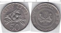 Каталог монет - монета  Сингапур 50 центов