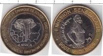 Каталог монет - монета  Сенегал 6000 франков