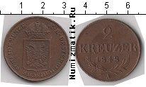 Каталог монет - монета  Австрия 2 крейцера