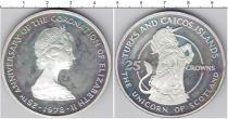 Каталог монет - монета  Теркc и Кайкос 25 крон