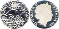 Продать Подарочные монеты Австралия Австралийский кенгуру 2009 Серебро