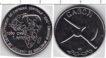 Каталог монет - монета  Габон 1500 франков