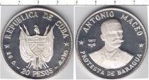 Каталог монет - монета  Куба 20 песо