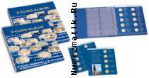 Каталог монет - монета  Альбомы Иллюстрированный альбом для монет 2 евро