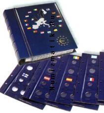 Каталог монет - монета  Optima Альбом для монет Евро с картонными листами (I часть)