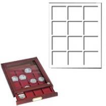 Каталог монет - монета  Дерево Деревянный планшет HMBG 12 с окном