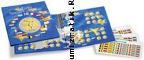 Каталог монет - монета  Альбомы Папка EURO COL 2 EU для монет евро