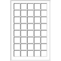 Каталог монет - монета  Другие Пластиковый планшет на 40 ячеек