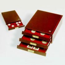 Каталог монет - монета  Дерево Деревянный планшет для монет на 12 ячеек