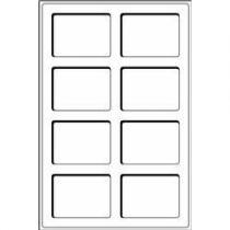 Каталог монет - монета  Другие Пластиковый планшет на 8 ячеек двойной толщины