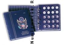 Каталог монет - монета  Альбомы Альбом в футляре с листами для монет в 25 центов, STATEHOOD