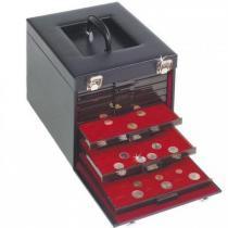 Каталог монет - монета  Кейсы Кожаный кейс на 10 планшетов