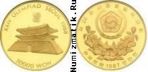 Каталог монет - монета  Южная Корея 50000 вон
