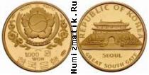 Каталог монет - монета  Южная Корея 1000 вон