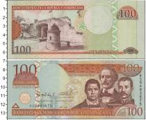 Каталог монет - монета  Доминиканская республика 100 песо