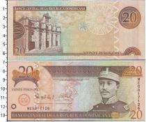 Каталог монет - монета  Доминиканская республика 20 песо