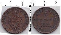 Каталог монет - монета  Саксония 5 пфеннигов