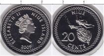 Каталог монет - монета  Ниуэ 20 центов