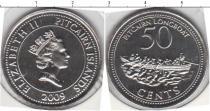 Каталог монет - монета  Острова Питкэрн 50 центов