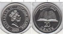 Каталог монет - монета  Острова Питкэрн 20 центов