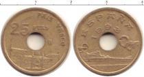 Каталог монет - монета  Испания 25 песет