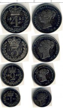Каталог - подарочный набор  Великобритания Маунди-сет 1882 (Благотворительный набор)