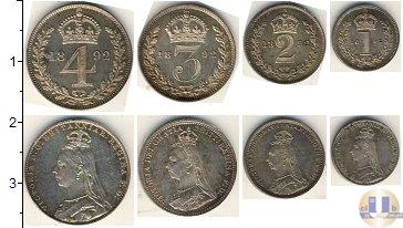 Каталог - подарочный набор  Великобритания Маунди-сет 1892 (Благотворительный набор)