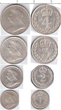 Каталог - подарочный набор  Великобритания Маунди-сет 1900 (Благотворительный набор)