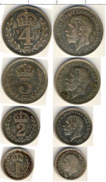 Каталог - подарочный набор  Великобритания Маунди-сет 1933 (Благотворительный набор)