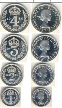 Каталог - подарочный набор  Великобритания Маунди-сет 1980 (Благотворительный набор)