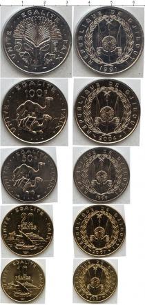 Каталог - подарочный набор  Джибути Джибути 1991-2007