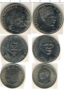 Каталог - подарочный набор  Заир Заир 1976-1978