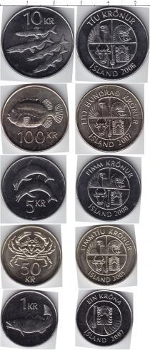 Каталог - подарочный набор  Исландия Исландия 2005-2008
