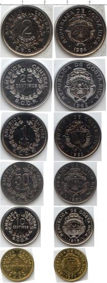Каталог - подарочный набор  Коста-Рика Коста-Рика 1979-1990