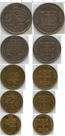 Каталог - подарочный набор  Макао Макао 1982-1988