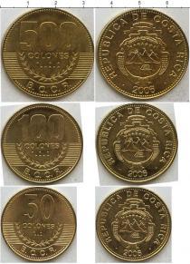 Каталог - подарочный набор  Коста-Рика Коста-Рика 2003-2007