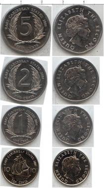 Продать Наборы монет Карибы Карибы 2004-2008 0