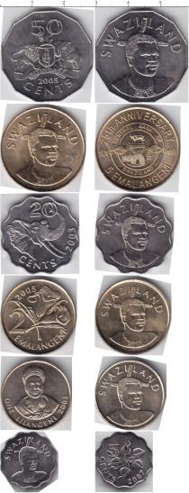 Каталог - подарочный набор  Свазиленд Свазиленд 1999-2007