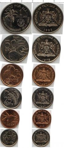 Каталог - подарочный набор  Тринидад и Тобаго Тринидад и Тобаго 1979-2005