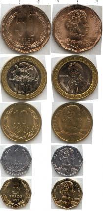 Каталог - подарочный набор  Чили Чили 2001-2006
