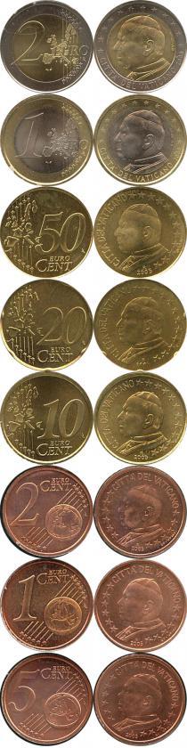 Каталог - подарочный набор  Ватикан Евронабор 2005