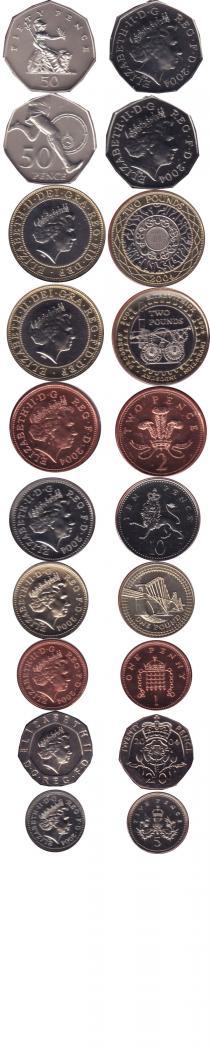 Каталог - подарочный набор  Великобритания Регулярный выпуск 2004