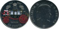 Продать Подарочные монеты Канада 60-летие бракосочетания королевы Елизаветы II 2007 Медно-никель