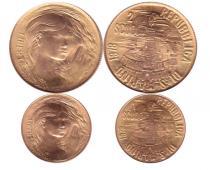 Каталог - подарочный набор  Сан-Марино 2 скуди и 1 скуди