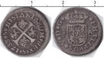 Каталог монет - монета  Испания 1/2 реала