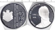 Каталог монет - монета  Лихтенштейн 10 франков
