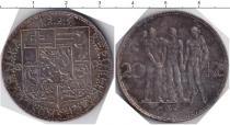 Каталог монет - монета  Словакия 20 корун
